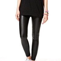 Sienna Stretch Skinnies in Vegan Leather