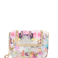 Printed clutch bag - Lemon | Electric Daydream | Ted Baker ROW