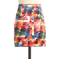 It's a Colorful Life Skirt | Mod Retro Vintage Skirts | ModCloth.com