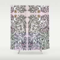 'a sort of emotional anemia.' Shower Curtain by anipani