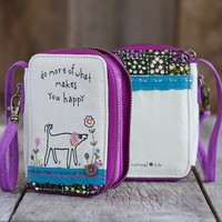 Dog Prairie Stitch Wristlet