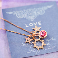 Design Your Own Summer Charm Necklace