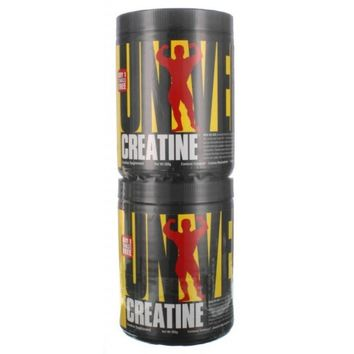 Universal Nutrition, Creatine Twinpack, 2 Bottles, (200 grams 40 Servings Each)