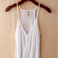 Faux Tuck Camisole, Summer White (Great Investment Piece)