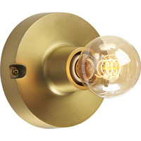 brass flush mount lamp