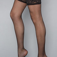 The Lace Top Sheer Thigh High Sock by Foot Traffic | Karmaloop.com - Global Concrete Culture