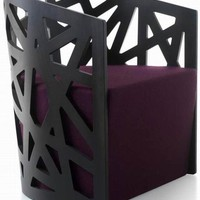 Maze Armchair Modern Beautiful and Comfortable by Ronald Jeanson - Top Chair Design