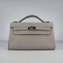 Hermes Kelly 22CM H008 Handbag Grey [HermesSY035] - &amp;#36;191.99 : Hermes Bags, Hermes Silk Scarves, Hermes jewelry, Hermes Handbags 2011