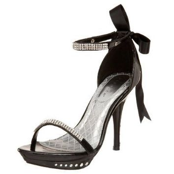 Pleaser Women's Monet-12 Ankle Wrap Sandal
