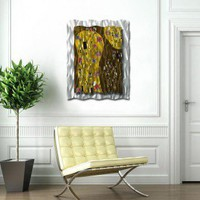 "All My Walls After Klimt Modern Wall Art - 39"" x 30.5"" - MOD00001 - All Wall Art - Wall Art & Coverings - Decor"