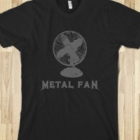 I'm a Huge Metal Fan T-Shirt-Unisex Black T-Shirt