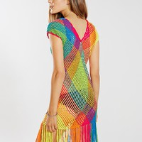 Buena Onda Crochet Dress - Urban Outfitters