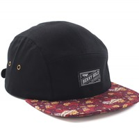 Dolores Burgundy 5Panel Hat - Hats - Shop | Benny Gold