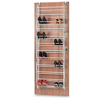 36 Pair Over-the-Door Shoe Rack