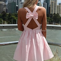 BLESSED ANGEL DRESS , DRESSES, TOPS, BOTTOMS, JACKETS & JUMPERS, ACCESSORIES, 50% OFF , PRE ORDER, NEW ARRIVALS, PLAYSUIT, COLOUR, GIFT VOUCHER,,Pink,CUT OUT,SLEEVELESS,MINI Australia, Queensland, Brisbane