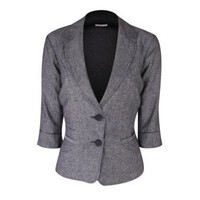 SMART SET - Collection - LINEN BLAZER