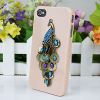 Peacock Case Cover for iPhone 4gs/4s by fashioncase