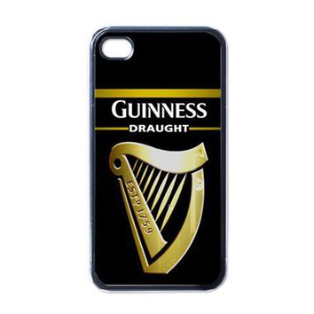 Apple iPhone Case - Guinness Beer Logo - iPhone 4 Case Cover | Merchanstore - Accessories on ArtFire