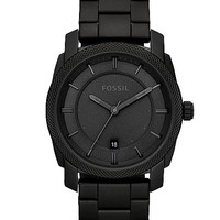 Fossil Machine Black IP Watch