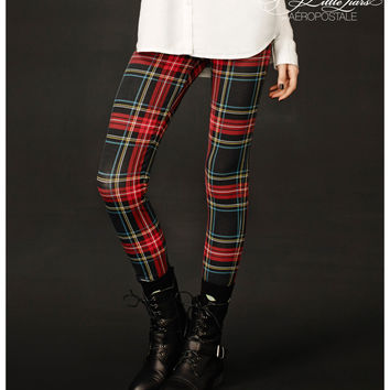 Pretty Little Liars Aria Plaid Leggings