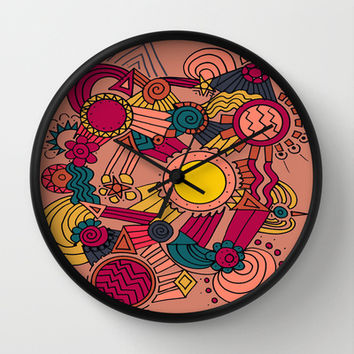 The Earthly Environment Wall Clock by DuckyB (Brandi)