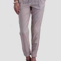 Downtown Gal Lounge Pants In Beige