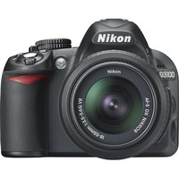 Nikon - D3100 DSLR Camera with 18-55mm VR Lens - Black