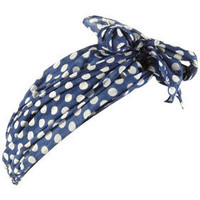 Navy Polka Dot Tie Headband - Hair Accessories - Accessories - Topshop