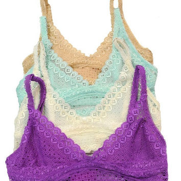 Anna Lace Bralette (more colors)