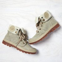 AEO Women's Palladium Roll-down Canvas Boot (Khaki)