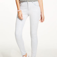 Liv High-Rise Jeggings in Pale Mist