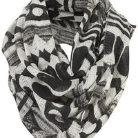 Mono Sketchy Native Snood - Scarves  - Accessories  - Topshop