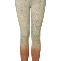 Acid Wash Ombre Leggings - Trousers &amp; Leggings  - Clothing  - Topshop