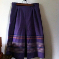 1970s Wool Skirt by JezzyBelles on Etsy