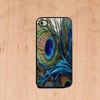 Iphone Case - Peacock Feather , Iphone 4 Case , Iphone 4s Case | Luulla