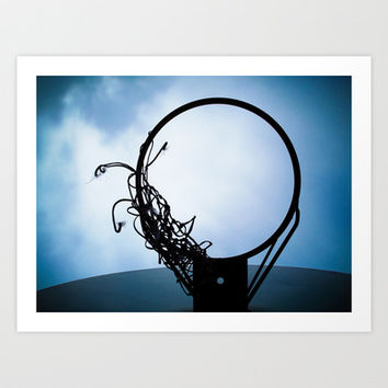 Hoop Dreams Art Print by stephenshoots