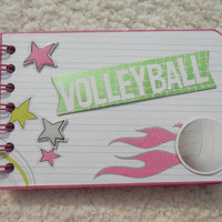 4x6 Volleyball  Scrapbook Photo Album