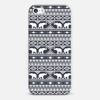 Elephant Tribal Slate iPhone 5s case by Jacqueline Maldonado | Casetify