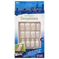 Broadway Nails® Natural Deceptions False Nails - Clever