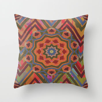 Mountain Flower II Throw Pillow by gretzky
