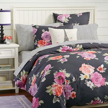 Vintage Bloom Duvet Cover + Sham