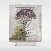 Discovery Shower Curtain by anipani