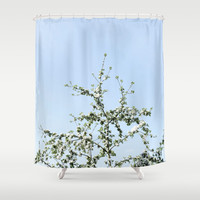 Nature d'un jour Shower Curtain by Yasmina Baggili
