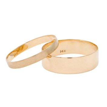 Catbird :: shop by category :: JEWELRY :: Wedding & Engagement :: Mens/Unisex :: Thin Line Rings
