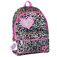 Skechers Twinkle Toes Light-Up Cheetah Puff Backpack - Kids