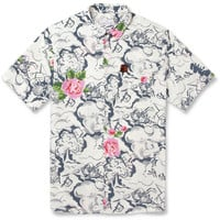 Hentsch Man - Printed Cotton Short-Sleeved Shirt | MR PORTER