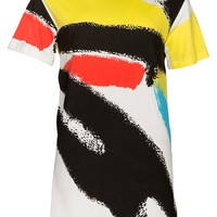 Graffiti Shift Dress