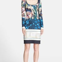 Clover Canyon 'James Joyce' Print Neoprene Sheath Dress | Nordstrom