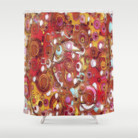 Inner Workings Shower Curtain by gretzky