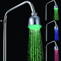 Chrome LED Rainfall Shower Head 1039-M4304 - US&amp;#36; 12.99